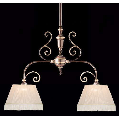 Crystorama Lighting Crystorama Lighting Hot Deal Roman Bronze Island Light with Empire Shade 1372-RB