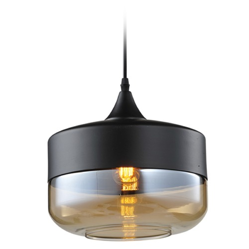 Avenue Lighting Avenue Lighting Robertson Blvd. Black Mini-Pendant Light HF-9113-BK/BZ