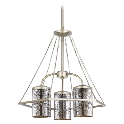 Progress Lighting Progress Lighting Indi Silver Ridge Chandelier P4248-134