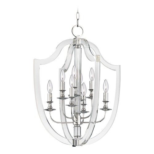 Hudson Valley Lighting Hudson Valley Lighting Arietta Polished Nickel Pendant Light 6520-PN