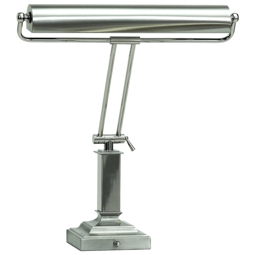 House of Troy Lighting Piano / Banker Lamp in Satin Nickel Finish P15-81-5262