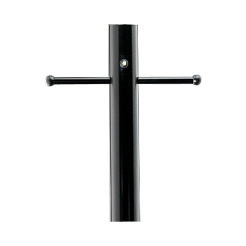Progress Lighting Progress Post in Black Finish with Photocell P5392-31PC