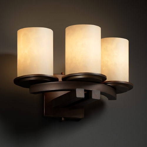 Justice Design Group Justice Design Group Clouds Collection Sconce CLD-8776-10-DBRZ