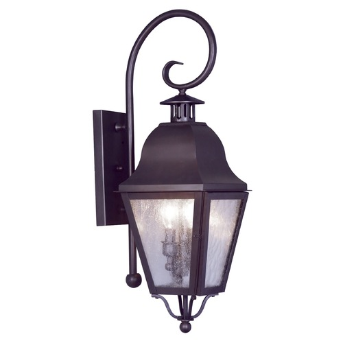Livex Lighting Livex Lighting Amwell Bronze Outdoor Wall Light 2551-07