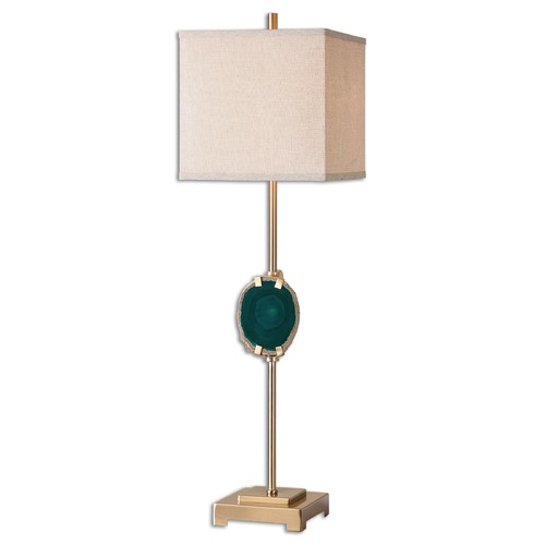 Uttermost Lighting Uttermost Achates Emerald Agate Buffet Lamp 29032-1