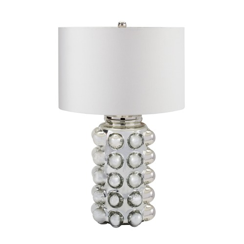 Dimond Lighting Dimond Lighting Silver Mercury Table Lamp with Drum Shade 983-006