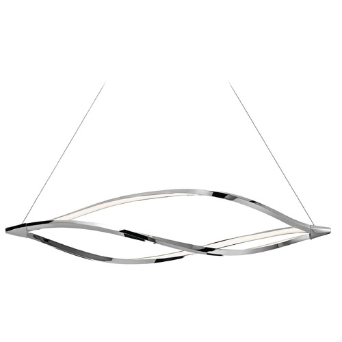 Elan Lighting Elan Lighting Meridian Chrome LED Island Light 83385