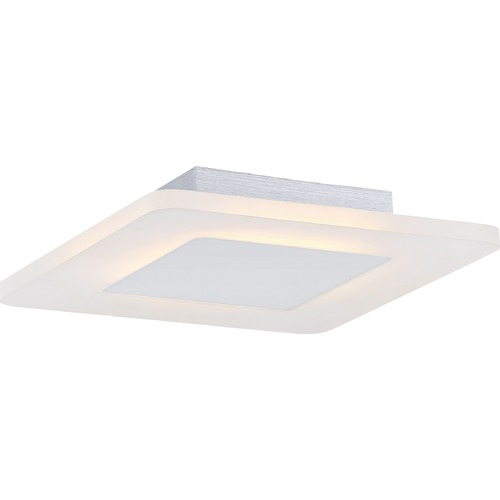 Quoizel Lighting Quoizel Lighting Platinum Aglow White Lustre LED Flushmount Light PCAW1611W