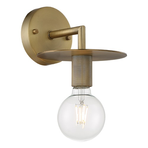 Satco Lighting Satco Lighting Bizet Vintage Brass Sconce 60/7241