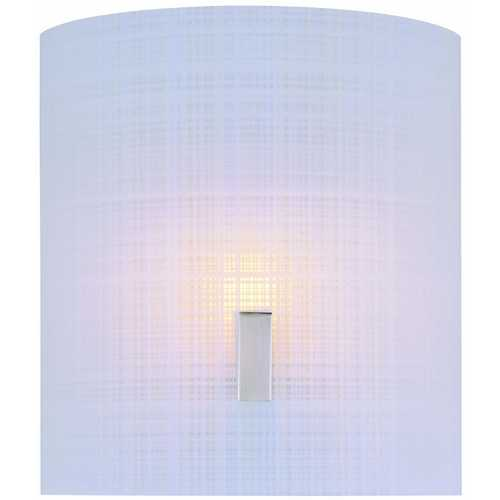 Lite Source Lighting Lite Source Lighting Nimbus Ii Polished Steel Sconce LS-1693PS/FRO