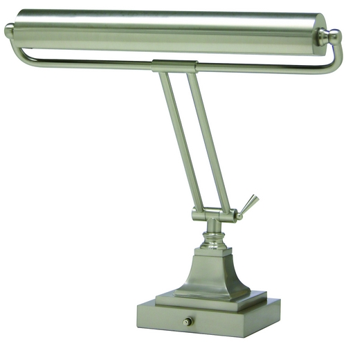 House of Troy Lighting Piano / Banker Lamp in Satin Nickel Finish P15-83-52