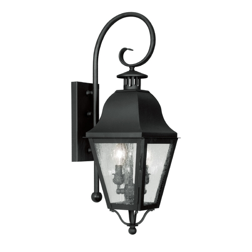 Livex Lighting Livex Lighting Amwell Black Outdoor Wall Light 2551-04