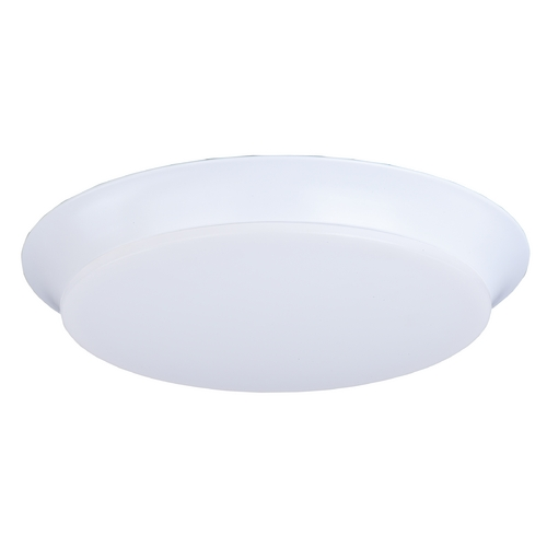 Maxim Lighting Maxim Lighting Profile Ee White LED Flushmount Light 87598WTWT