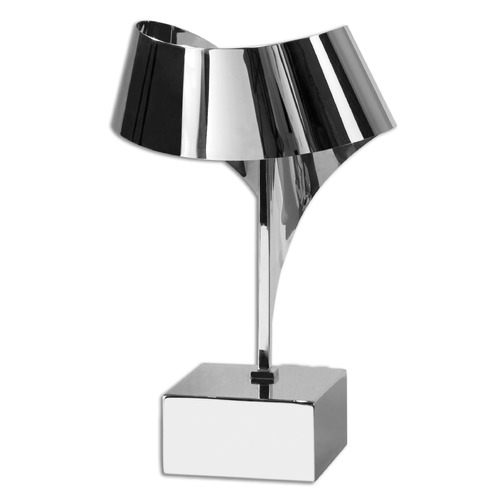 Uttermost Lighting Uttermost Guillet Stainless Desk Lamp 29043-1