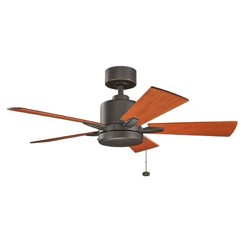 Kichler Lighting Kichler Lighting Bowen Olde Bronze Ceiling Fan Without Light 330241OZ