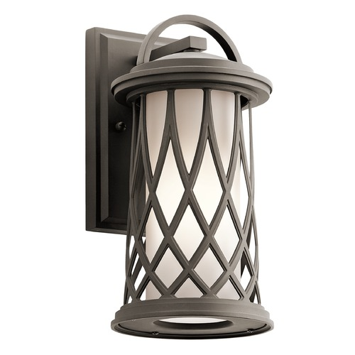 Kichler Lighting Kichler Lighting Pebble Lane Outdoor Wall Light 49681OZ