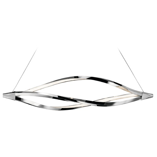 Elan Lighting Elan Lighting Meridian Chrome LED Island Light 83386