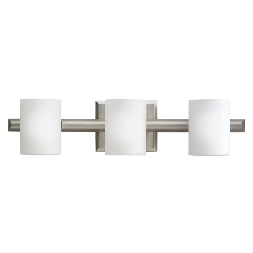 Kichler Lighting Kichler Modern Bathroom Light in Brushed Nickel Finish 5967NI