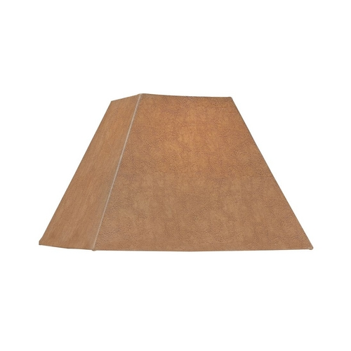 Dolan Designs Lighting Faux Leather Square Lamp Shade 140041