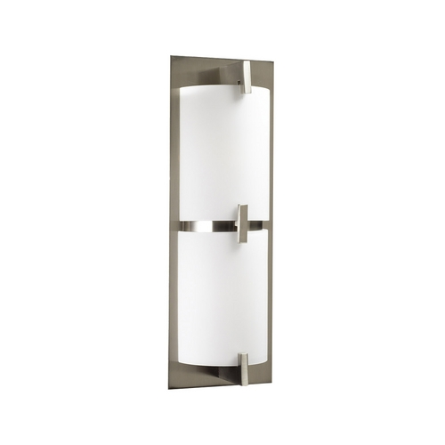 PLC Lighting Plc Lighting Ibex Satin Nickel Bathroom Light - Vertical or Horizontal Mounting 936 SN