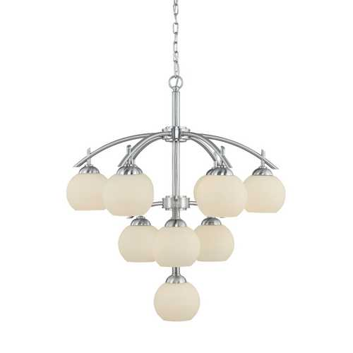 Dolan Designs Lighting 10-Light Three-Tier Chandelier 2872-09