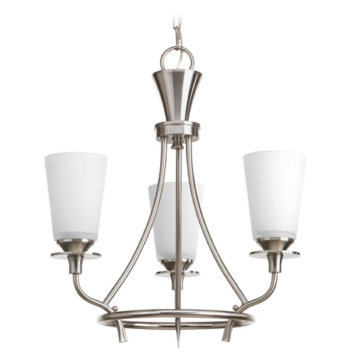 Progress Lighting Progress Lighting Cantata Brushed Nickel Mini-Chandelier P4005-09