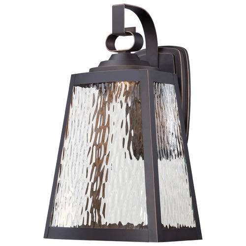 Minka Lavery Minka Lighting Talera Oil Rubbed Bronze with Gold LED Outdoor Wall Light 73103-143C-L