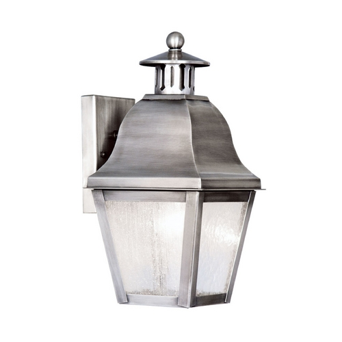 Livex Lighting Livex Lighting Amwell Vintage Pewter Outdoor Wall Light 2550-29