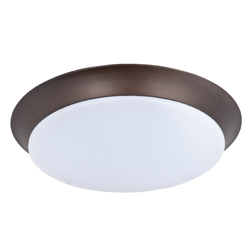 Maxim Lighting Maxim Lighting Profile Ee Bronze LED Flushmount Light 87599WTBZ