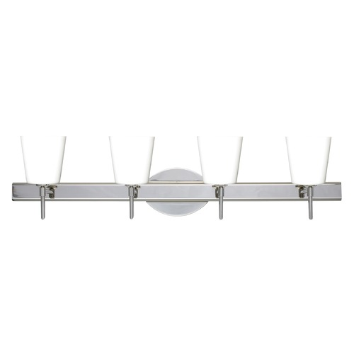 Besa Lighting Besa Lighting Canto Chrome LED Bathroom Light 4SW-513107-LED-CR