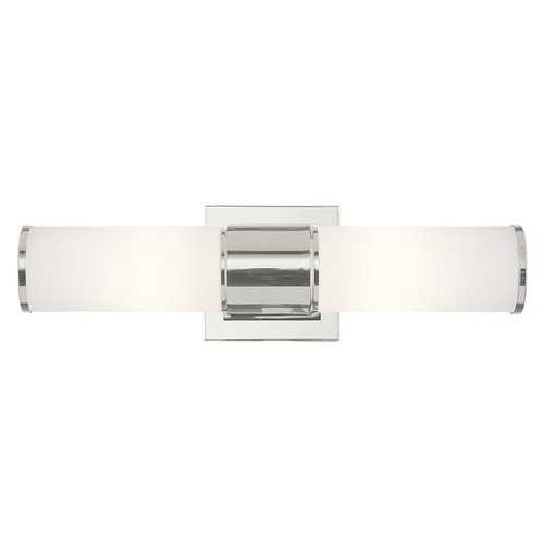 Livex Lighting Livex Lighting Weston Polished Nickel Bathroom Light 52122-35