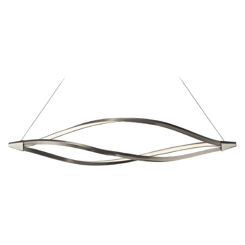 Elan Lighting Elan Lighting Meridian Brushed Nickel LED Island Light 83390
