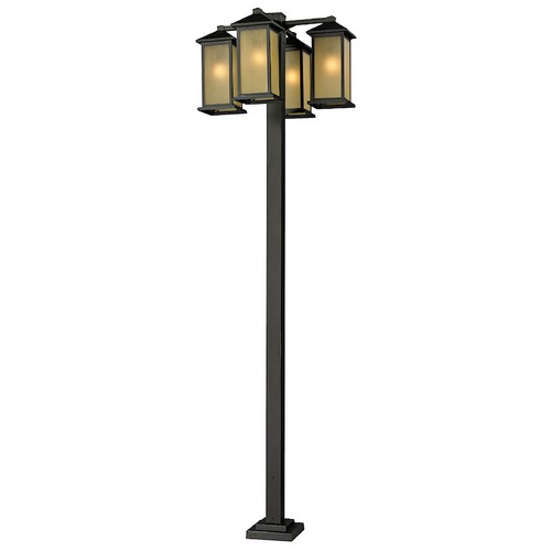 Z-Lite Z-Lite Vienna Oil Rubbed Bronze Post Light 548-4-536P-ORB