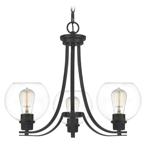 Quoizel Lighting Quoizel Lighting Pruitt Matte Black Chandelier PRUC5022MBK