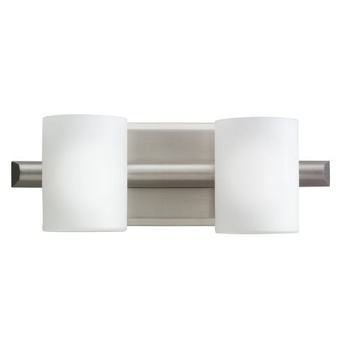 Kichler Lighting Kichler Modern Bathroom Light in Brushed Nickel Finish 5966NI