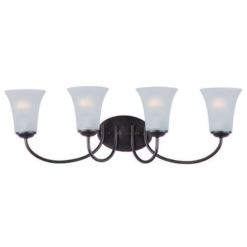 Maxim Lighting Maxim Lighting Logan Oil Rubbed Bronze Bathroom Light 10054FTOI