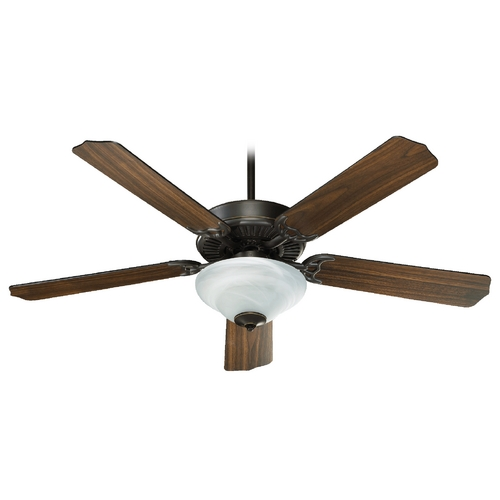 Quorum Lighting Quorum Lighting Capri Iv Old World Ceiling Fan with Light 77525-2595