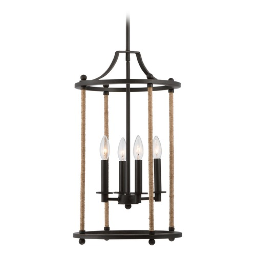 Quoizel Lighting Quoizel Frontier Imperial Bronze Pendant Light FTR5204IB
