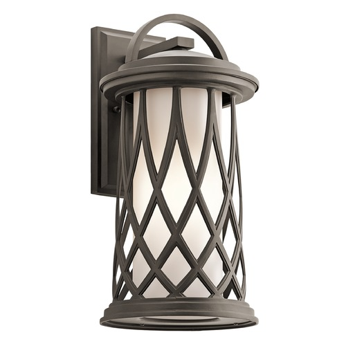 Kichler Lighting Kichler Lighting Pebble Lane Outdoor Wall Light 49683OZ