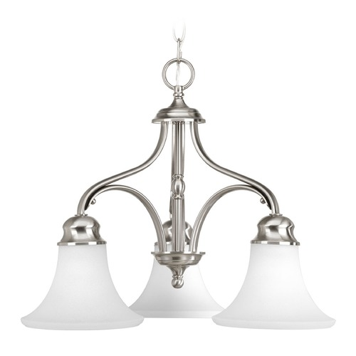 Progress Lighting Progress Lighting Applause Brushed Nickel Chandelier P4035-09