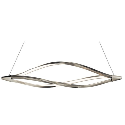 Elan Lighting Elan Lighting Meridian Brushed Nickel LED Island Light 83391