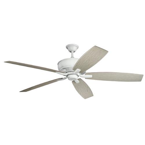 70-Inch 5 Blade Ceiling Fan Matte White By Kichler