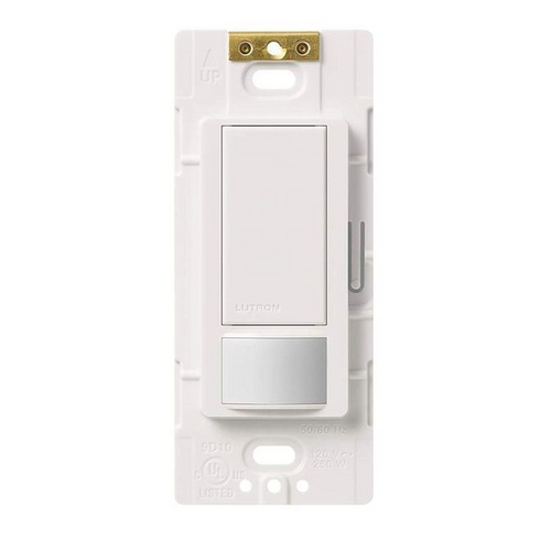 Lutron Dimmer Controls White Occupancy Sensor Wall Switch MS-OPS2-WH