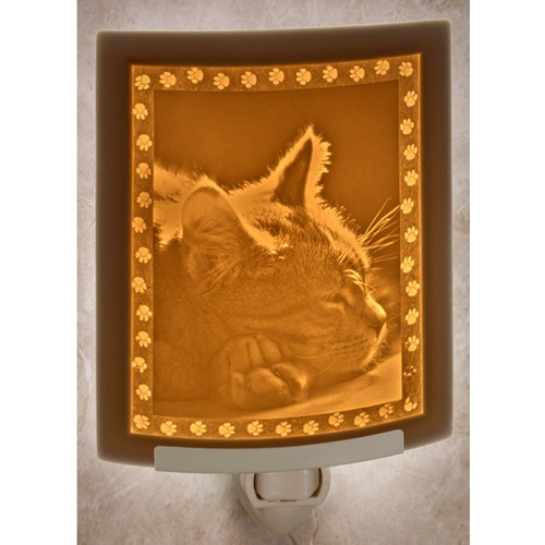 Porcelain Garden Lighting Porcelain Garden Lighting Kitten Dreams Night Light NR225