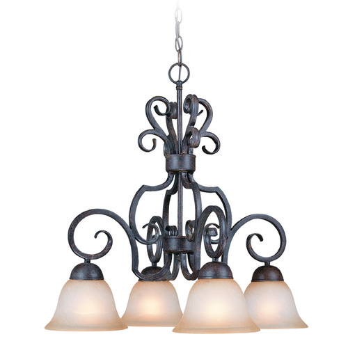 Jeremiah Lighting Jeremiah Sheridan Forged Metal Chandelier 22024-FM