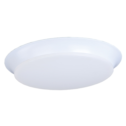 Maxim Lighting Maxim Lighting Profile Ee White LED Flushmount Light 87599WTWT