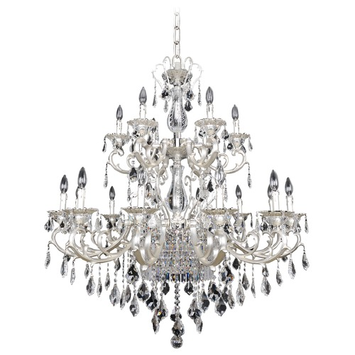 Allegri Lighting Rafael 21 Light Crystal Chandelier 022150-017-FR001