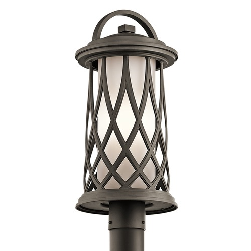 Kichler Lighting Kichler Lighting Pebble Lane Post Light 49684OZ