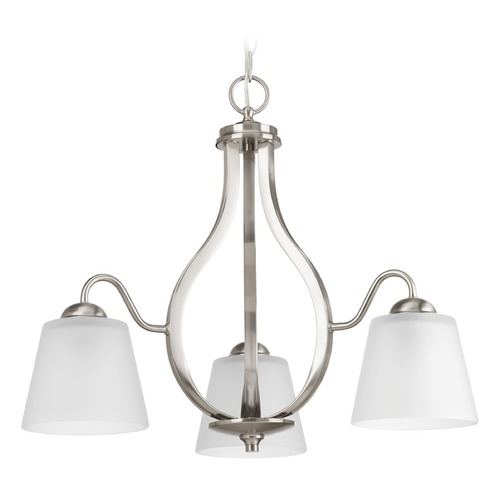Progress Lighting Progress Lighting Arden Brushed Nickel Chandelier P4745-09