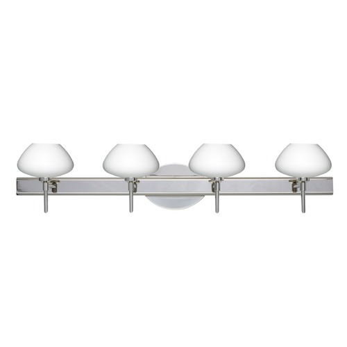 Besa Lighting Besa Lighting Peri Chrome LED Bathroom Light 4SW-541007-LED-CR